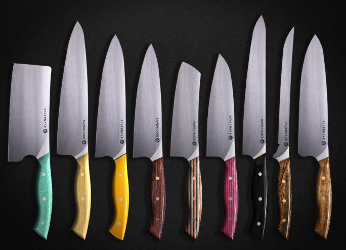 Medium custom knife options