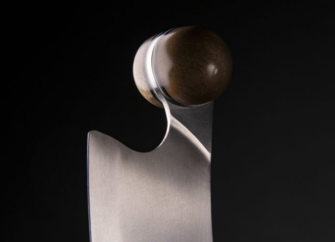 Ball handle of the cheese knife