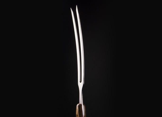 Bent Carving Fork