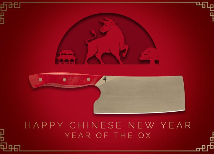 Year of the Ox Mini Cleaver